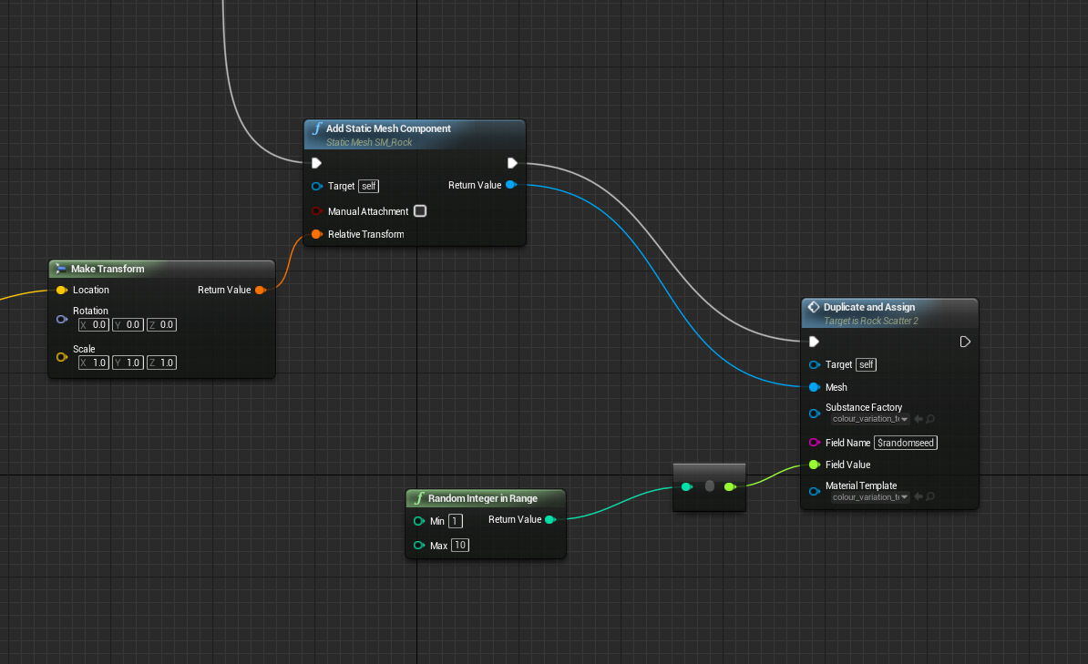 Creating 10,000+ Dynamic material instances in 'Blueprint' - Unreal